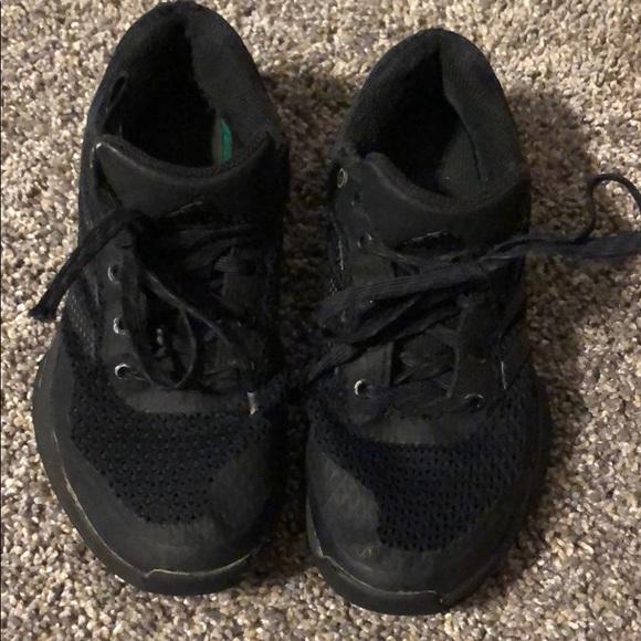 Boys All Black Adidas Tennis Shoes